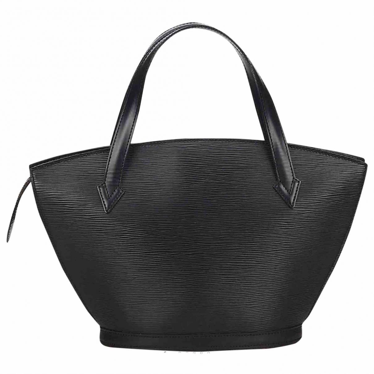 Louis Vuitton Saint Jacques Black Leather handbag for Women N