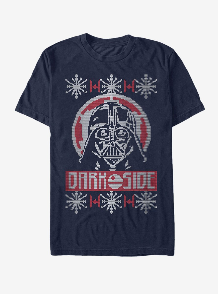 Star Wars Ugly Christmas Sweater Dark Side T-Shirt
