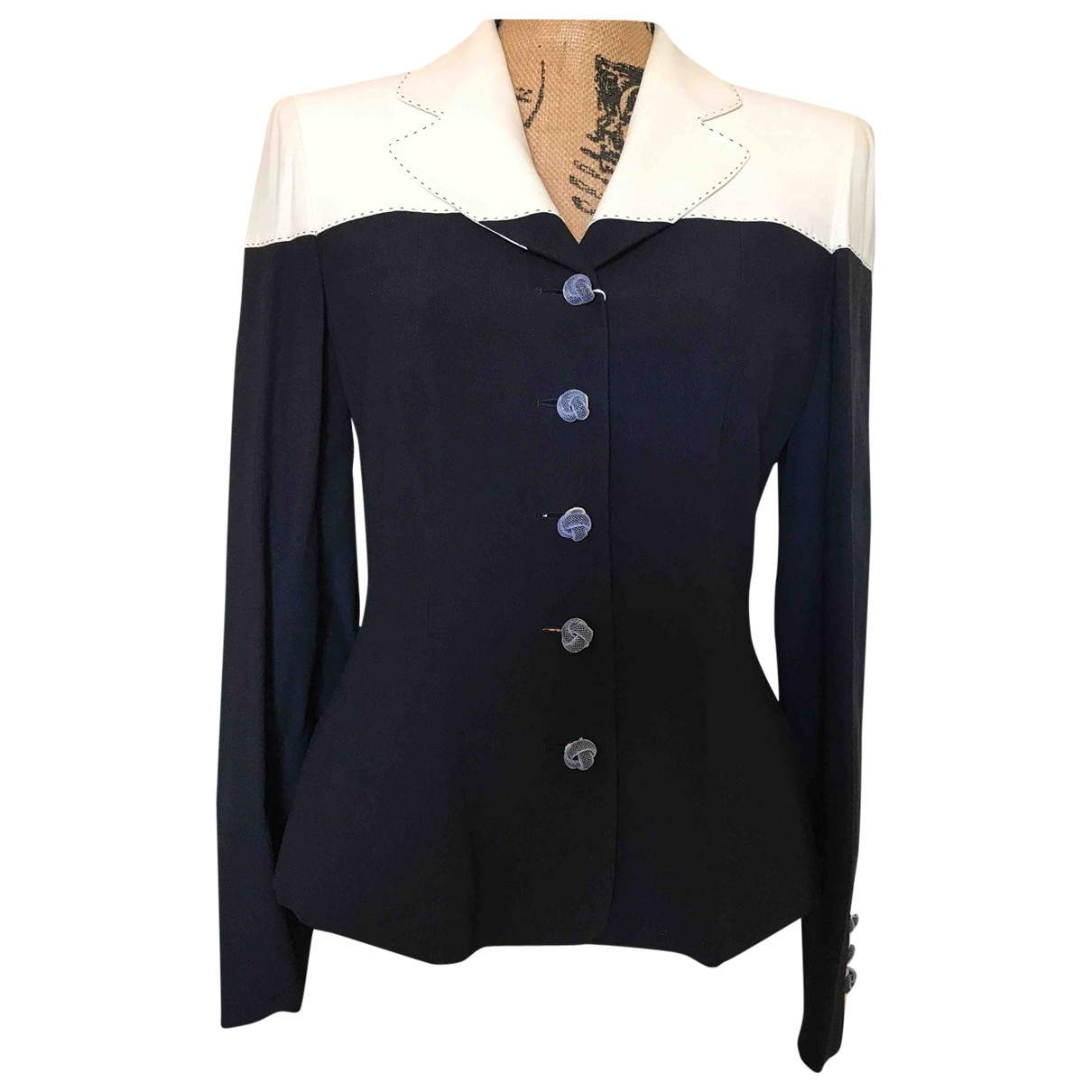 Moschino \N Blue jacket for Women 40 FR