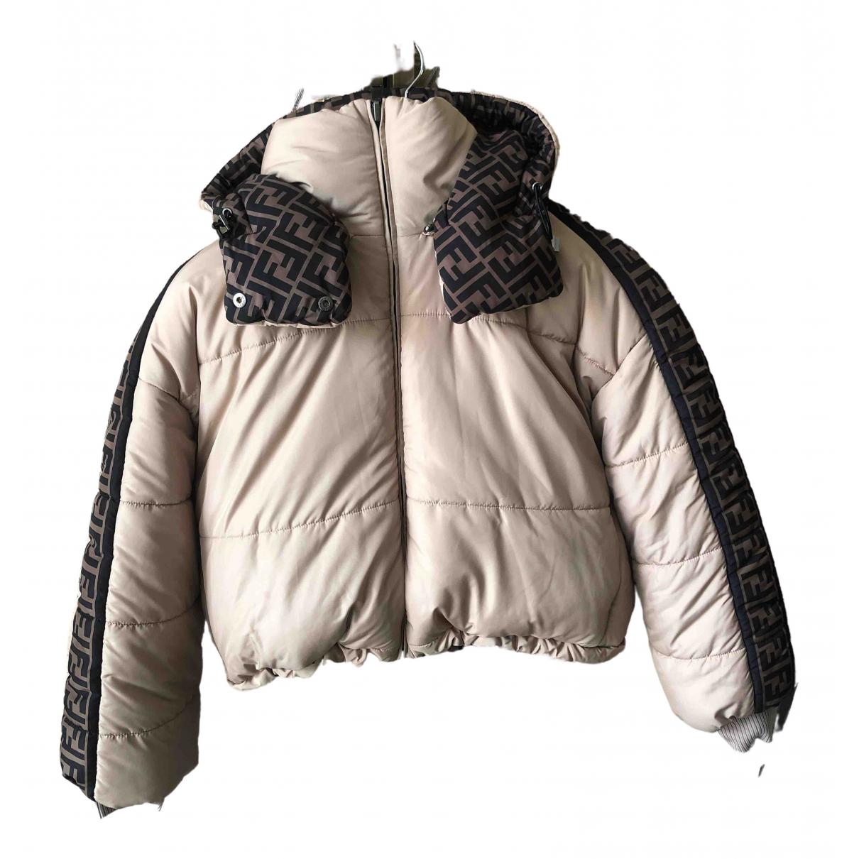 Fendi \N Brown Leather jacket for Women S International