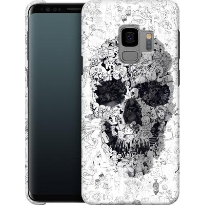 Samsung Galaxy S9 Smartphone Huelle - Doodle Skull von Ali Gulec