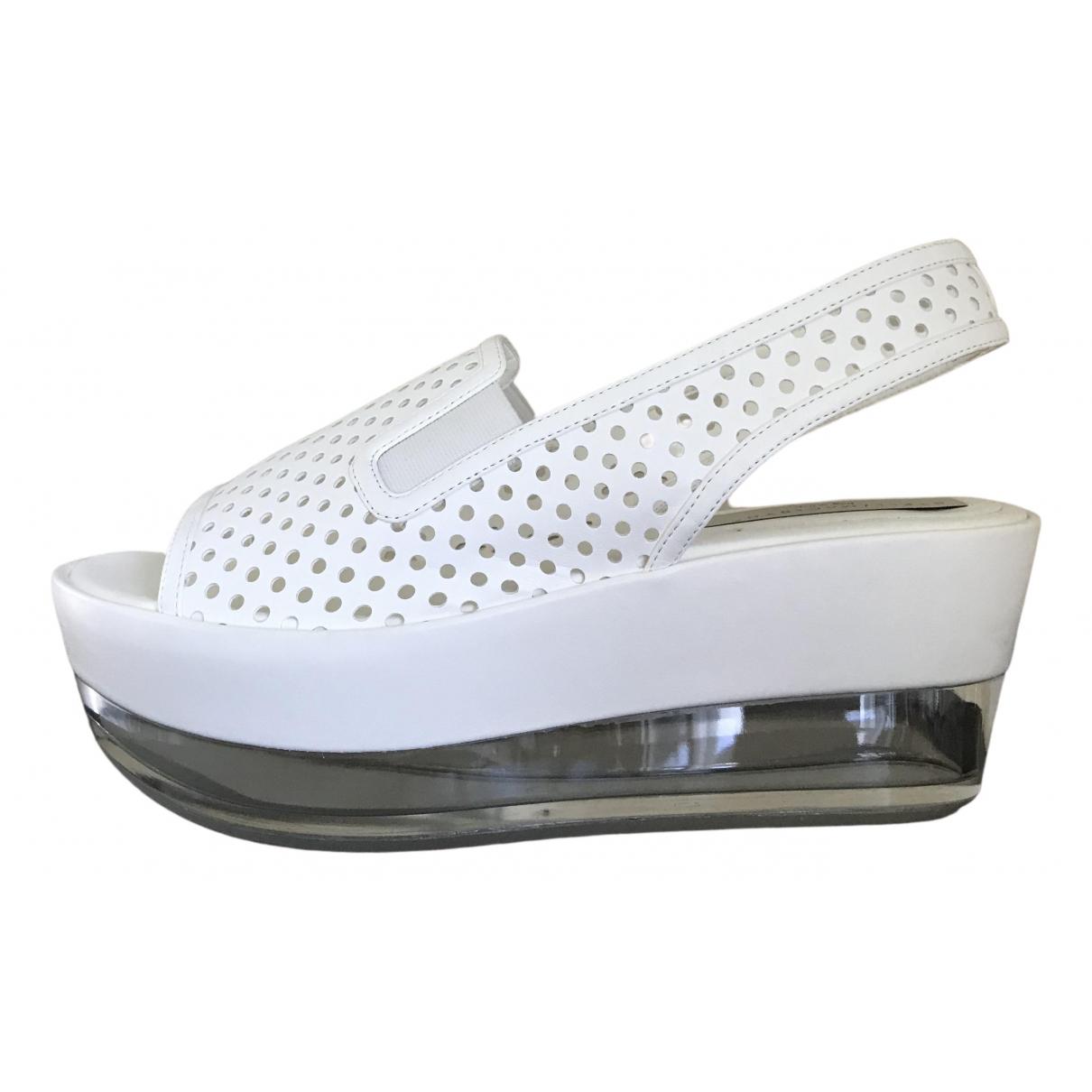 Stella Mccartney \N White Sandals for Women 39 EU
