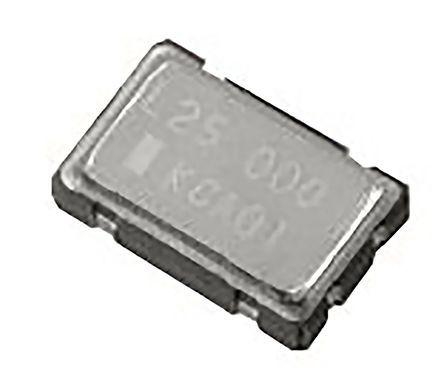 KYOCERA , 8MHz Clock Oscillator, ±50ppm CMOS, 4-Pin CSMD KC5032A8.00000CM0E00