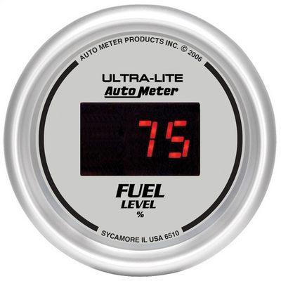 Auto Meter Ultra-Lite Digital Programmable Fuel Level Gauge - 6510
