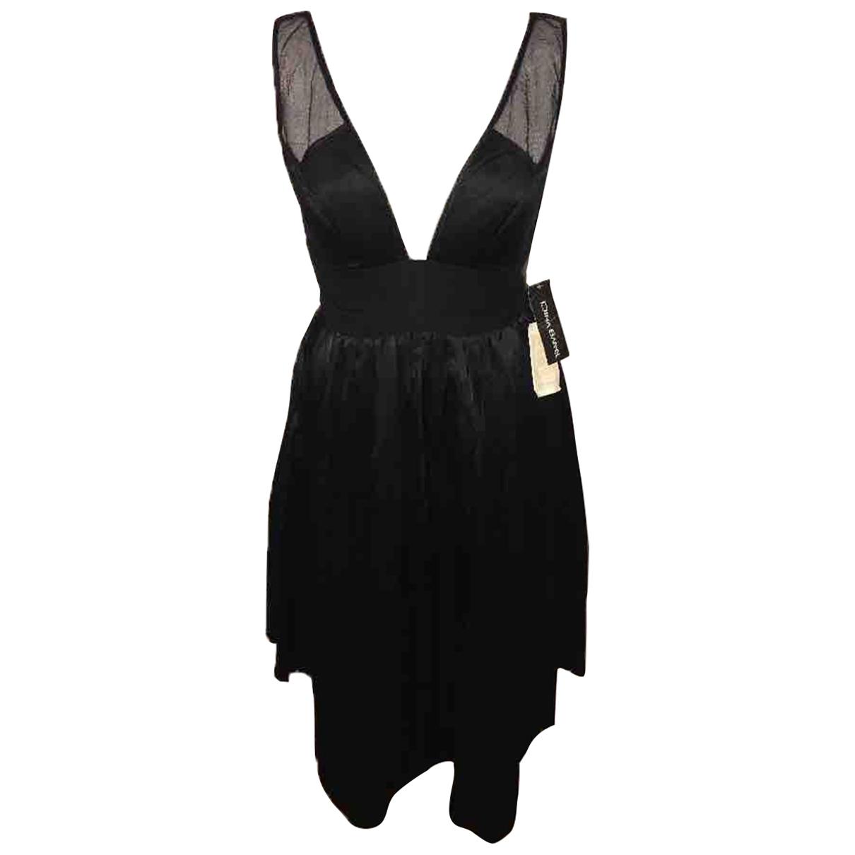 Dina Bar-el - Robe   pour femme en soie - noir