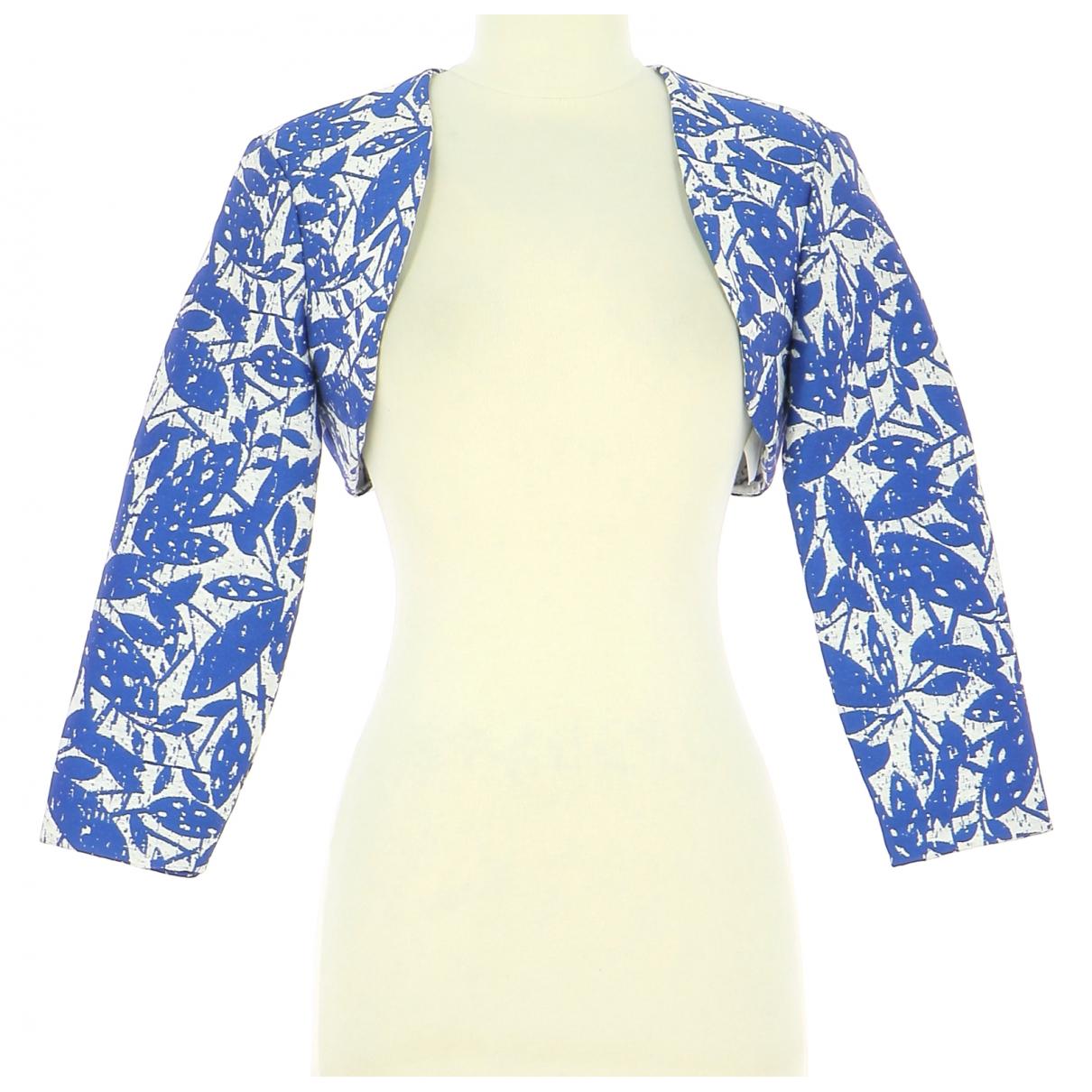 Paule Ka - Veste   pour femme en coton - bleu