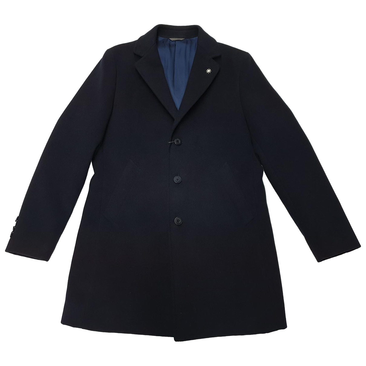 Manuel Ritz - Manteau   pour homme - bleu