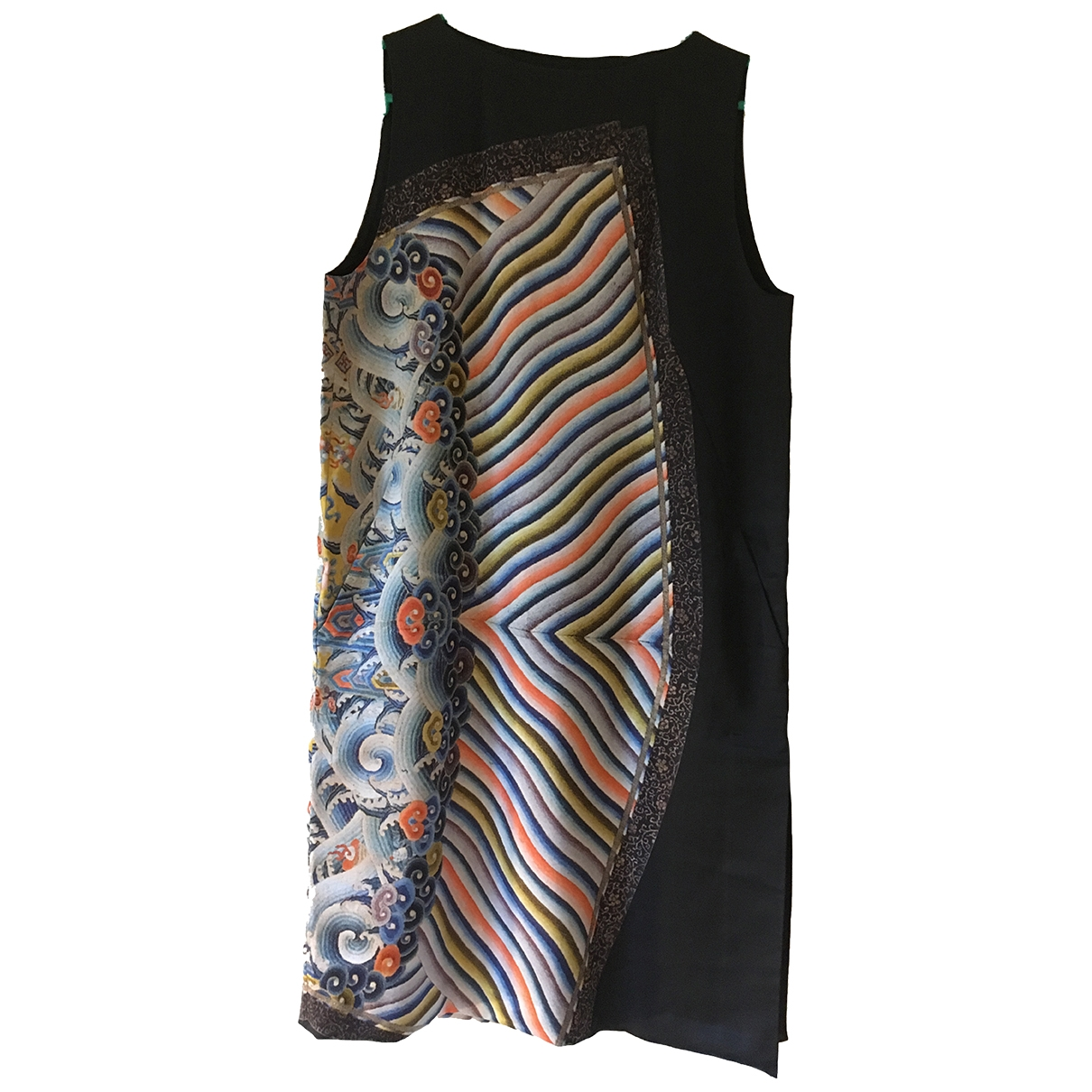Dries Van Noten \N Multicolour Wool dress for Women 40 FR