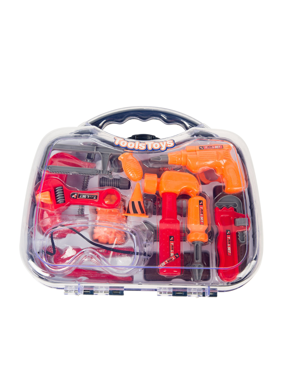 Kostuemzubehor Werkzeug-Set im Koffer Farbe: Multicolor