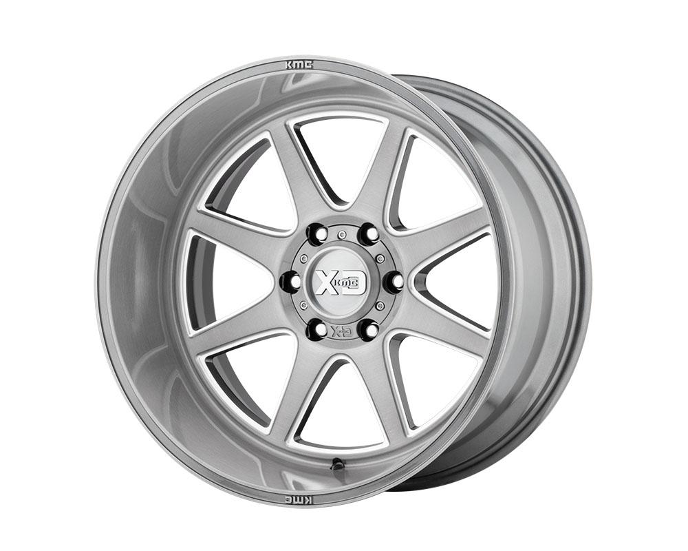 XD Series XD84422268644N XD844 Pike Wheel 22x12 6x6x139.7 -44mm Titanium Brushed Milled