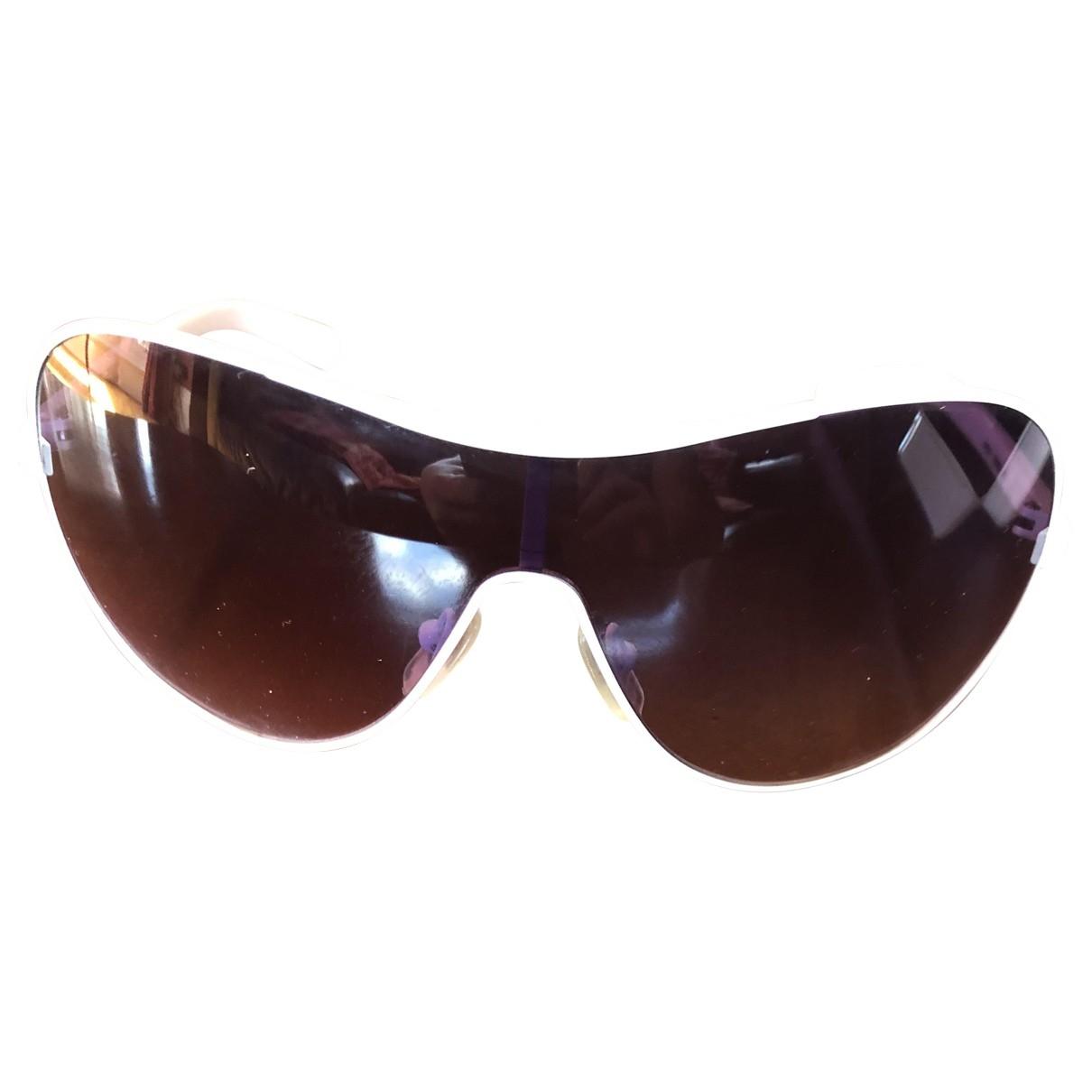 Dkny \N Sonnenbrillen in  Weiss Metall