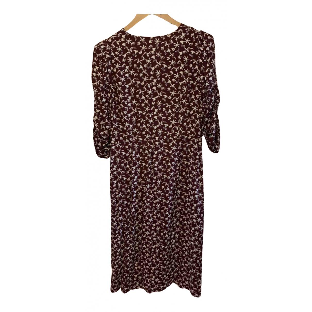 Ba&sh - Robe   pour femme - bordeaux