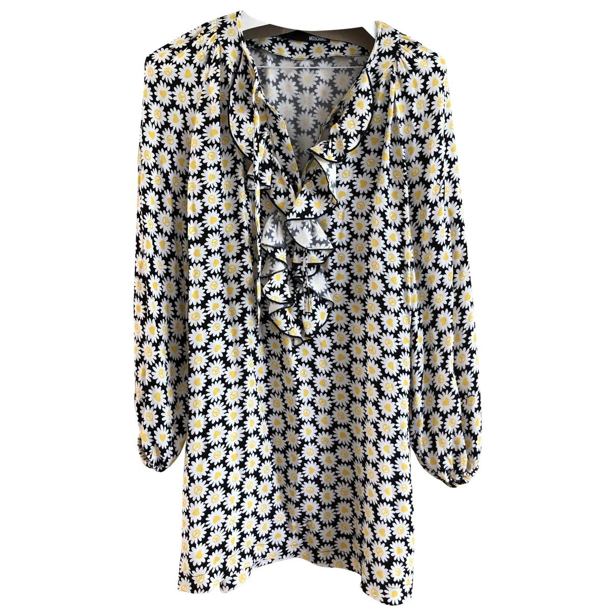Moschino Love \N Multicolour Cotton dress for Women 8 UK