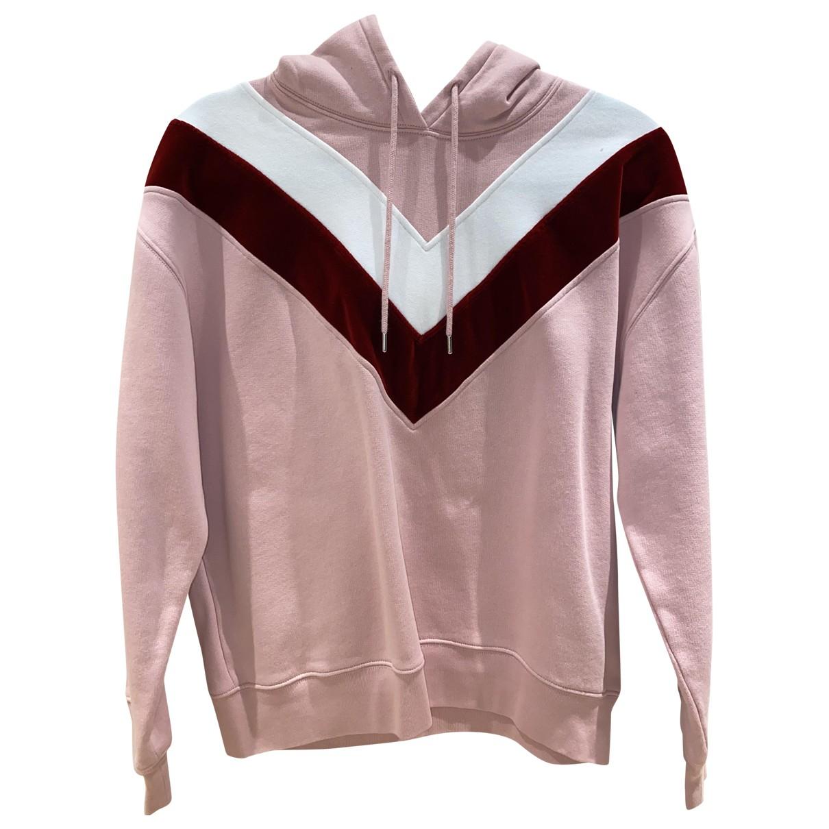 Sandro \N Pink Cotton  top for Women S International