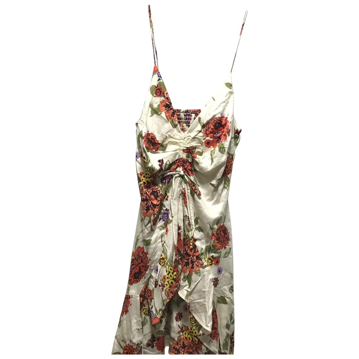 Free People \N Kleid in  Bunt Polyester