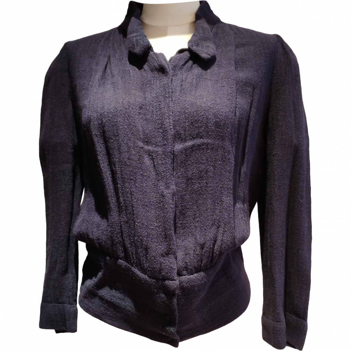 Isabel Marant \N Purple Linen jacket for Women 1 US