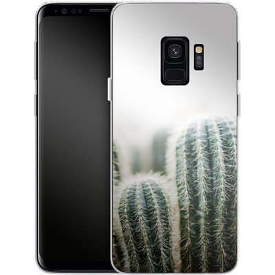 Samsung Galaxy S9 Silikon Handyhuelle - Cactus 1 von Mareike Bohmer