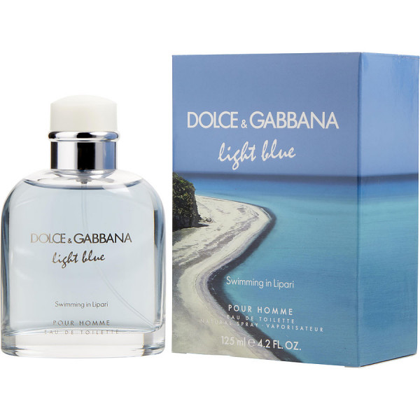 Light Blue Swimming In Lipari - Dolce & Gabbana Eau de toilette en espray 125 ML