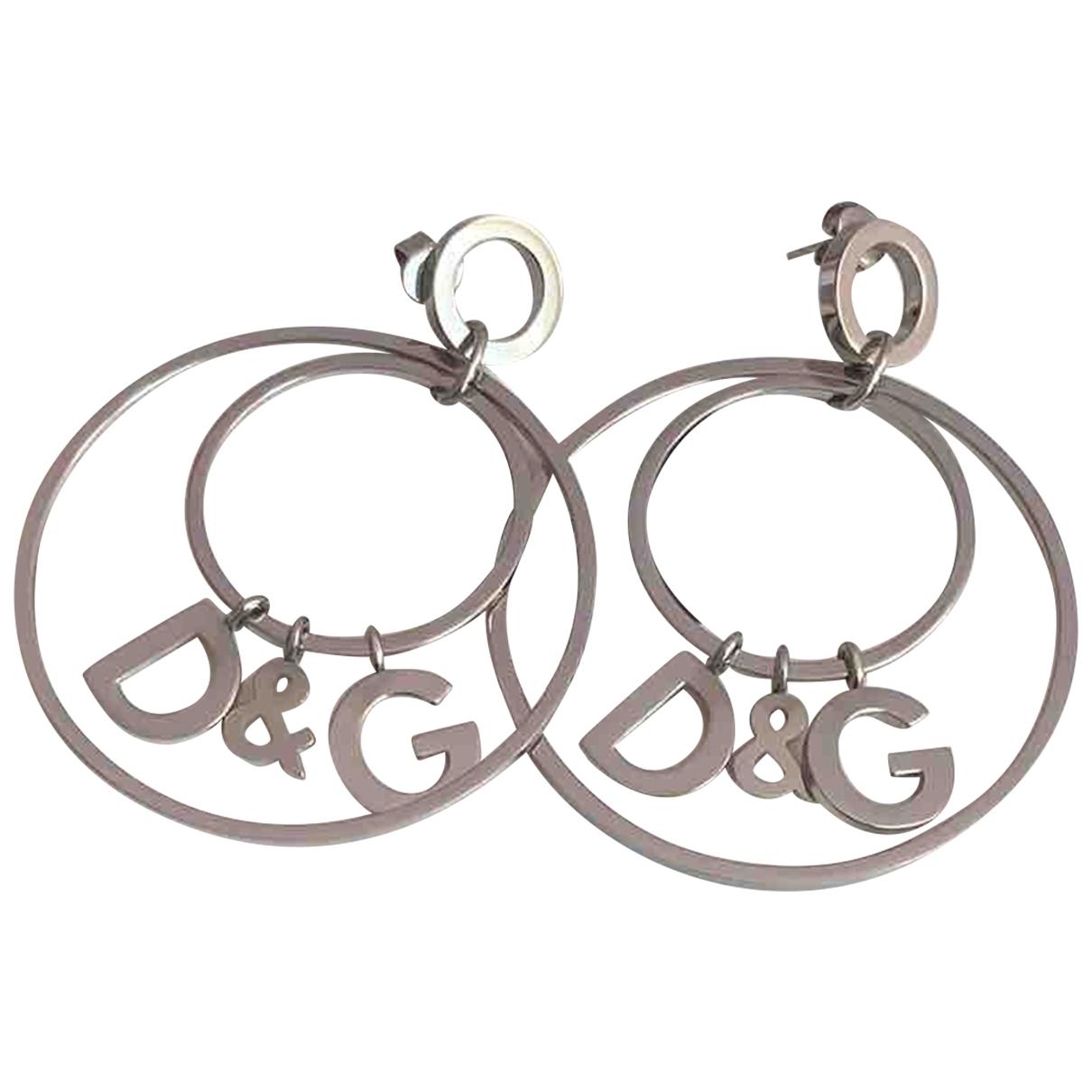 Dolce & Gabbana - Boucles doreilles   pour femme en metal - argente