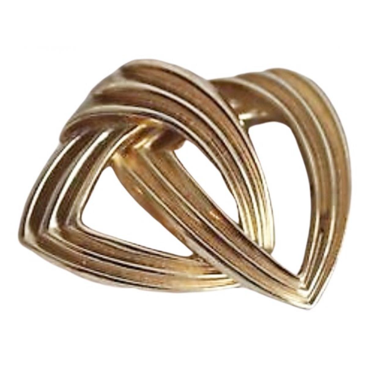 Dior - Broche   pour femme en metal - dore
