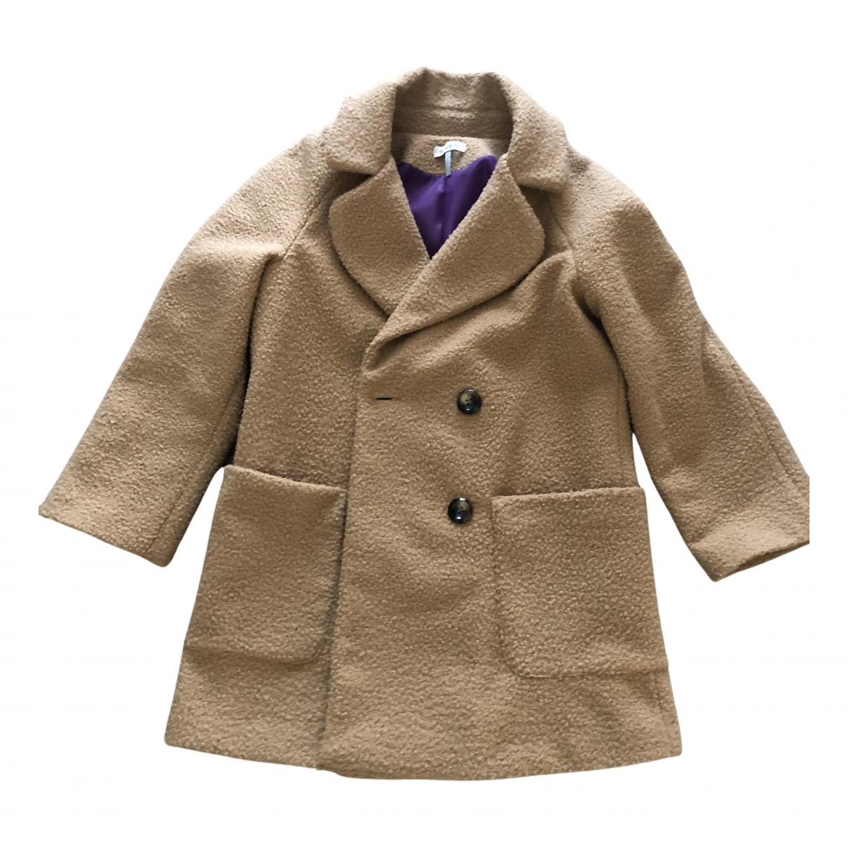 - Manteau   pour femme - camel