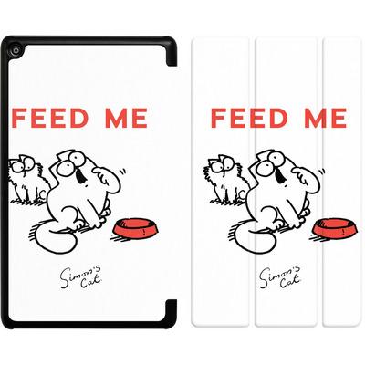 Amazon Fire HD 8 (2017) Tablet Smart Case - Feed Me von Simons Cat