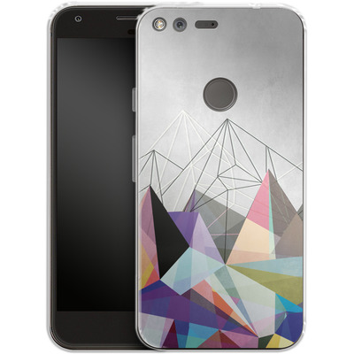 Google Pixel Silikon Handyhuelle - Colorflash 3 von Mareike Bohmer