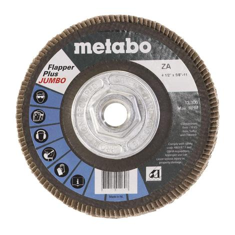 Metabo 4 1/2 In. Flapper Plus Jumbo 40 5/8 In.-11 T29 Fiberglass