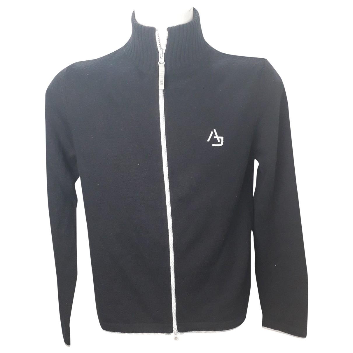 Armani Jeans \N Black Wool Knitwear & Sweatshirts for Men L International