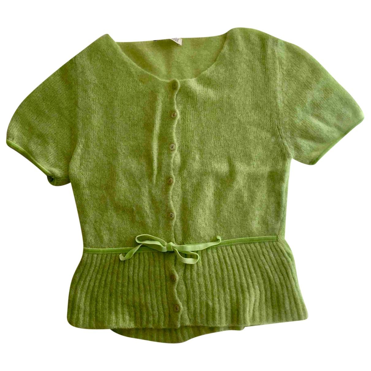 Autre Marque - Pull   pour femme en laine - vert