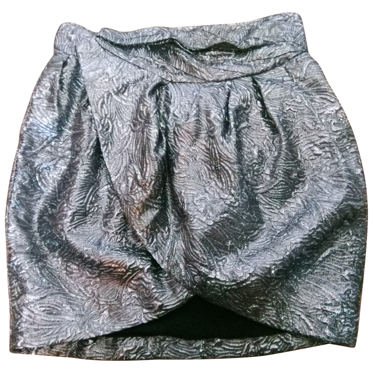 Isabel Marant Pour H&m - Jupe   pour femme en laine - metallise