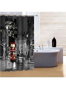 Faddish Creative New York City Night Print 3D Shower Curtain