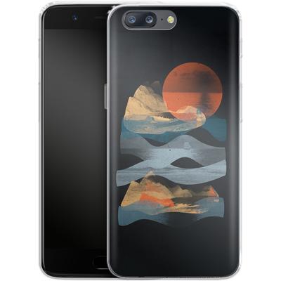OnePlus 5 Silikon Handyhuelle - Descend von ND Tank