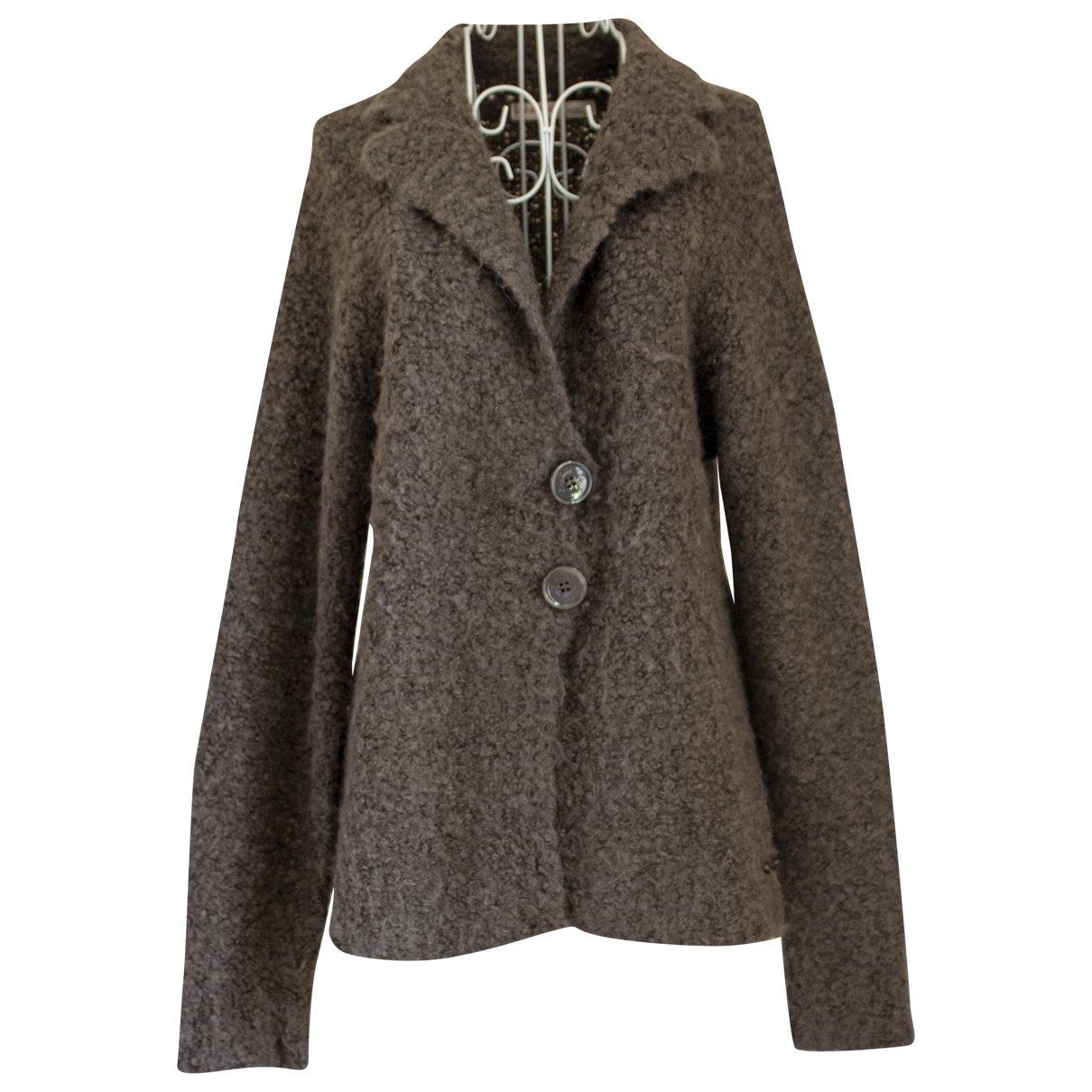 Liu.jo - Pull   pour femme en laine - marron