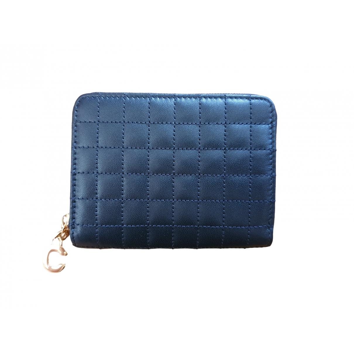 Celine \N Black Leather Purses, wallet & cases for Women \N
