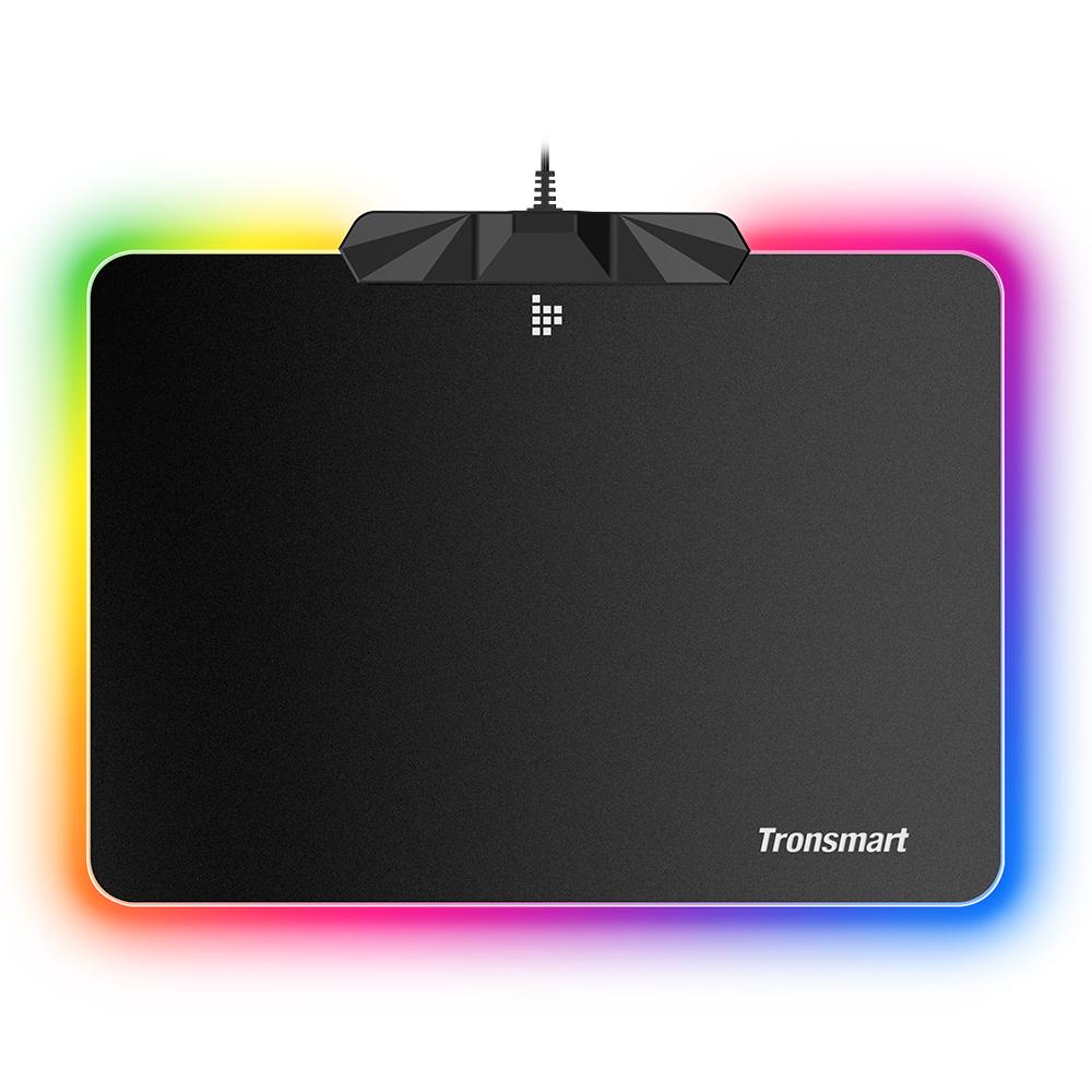 Tronsmart Shine X RGB Gaming Mouse Pad USB Mat with 16.8 Million Colors Non-slip Base Optimized for Gaming Sensors