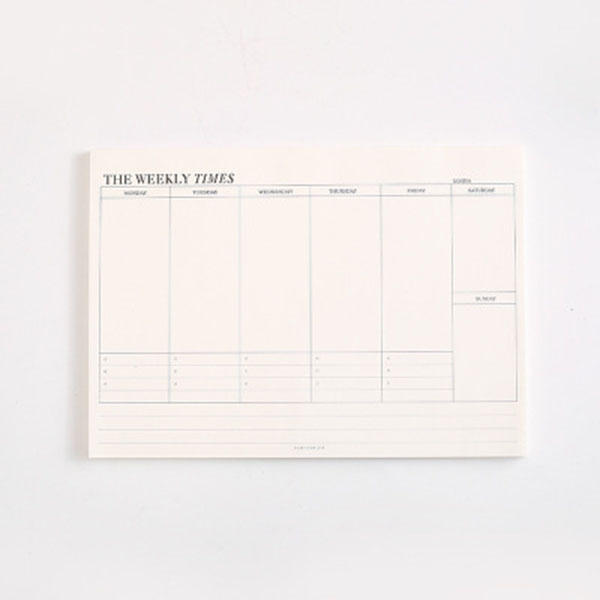 Simple Business Notebook Removable Notebook Office Thick Calendar With Medium-Sized Memorandum