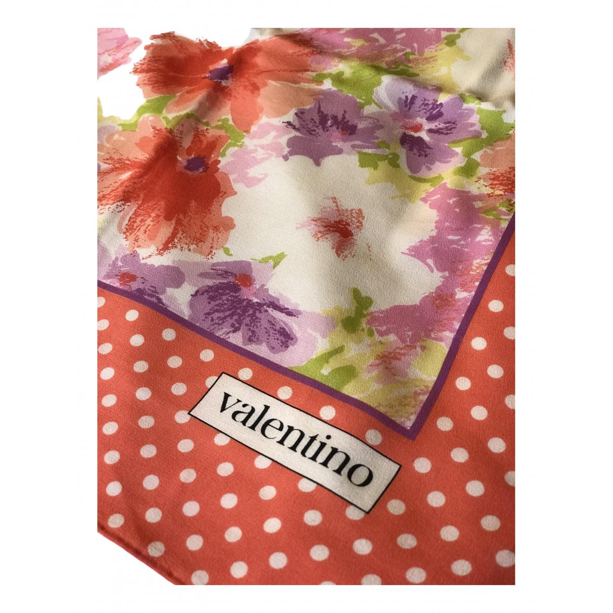 Valentino Garavani N Orange Silk scarf for Women N