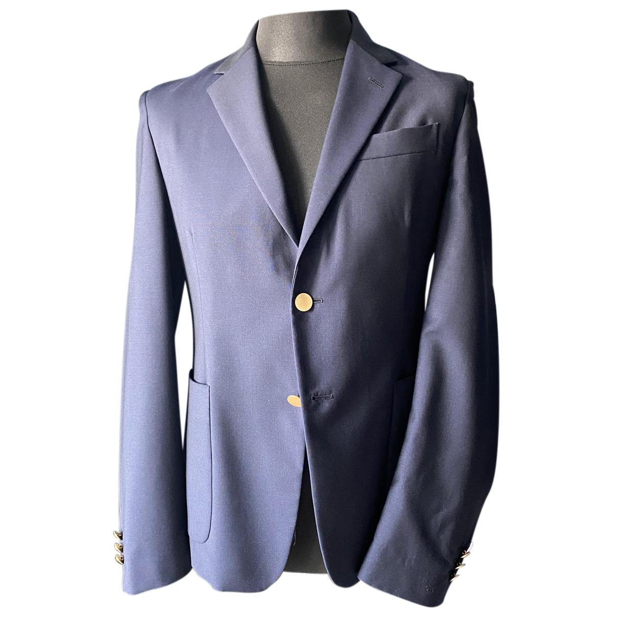Prada - Vestes.Blousons   pour homme en laine - bleu