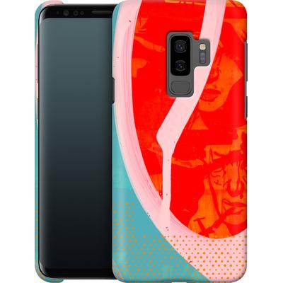 Samsung Galaxy S9 Plus Smartphone Huelle - Saturated Wall von Brent Williams