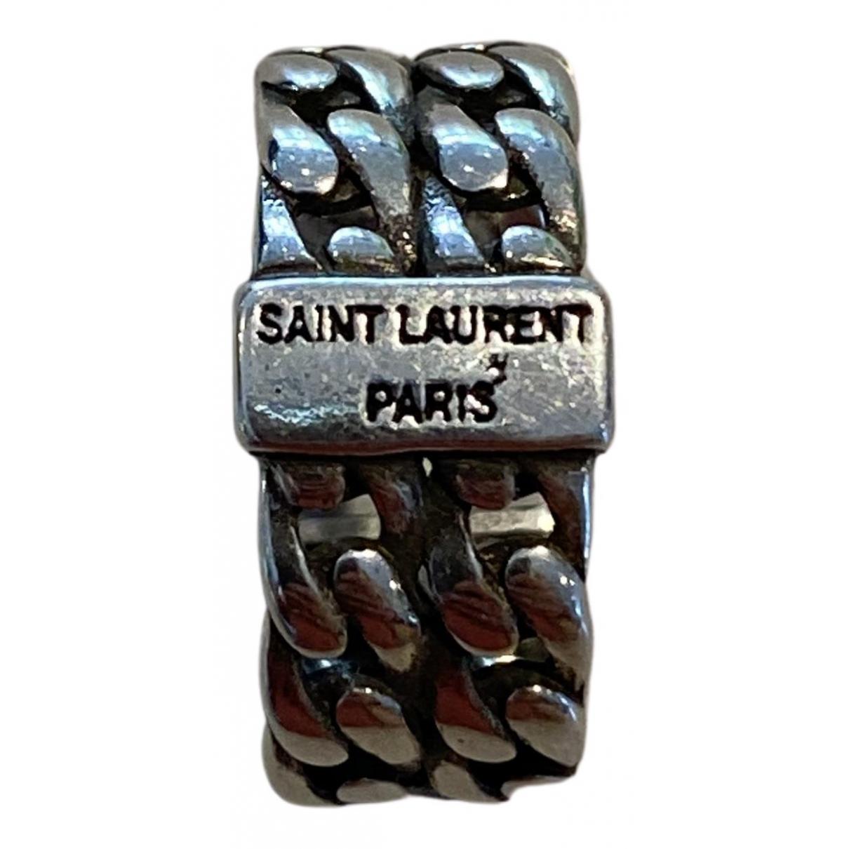 Anillo de Plata Yves Saint Laurent