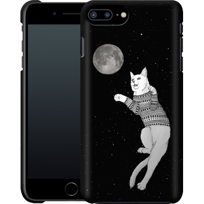 Apple iPhone 7 Plus Smartphone Huelle - Hipster Cat Trying to Catch the Moon von Barruf