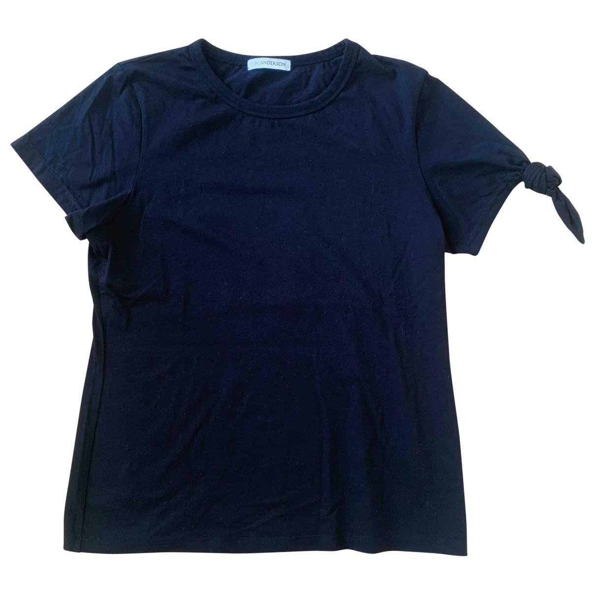 J.w. Anderson \N Black Cotton  top for Women 36 FR
