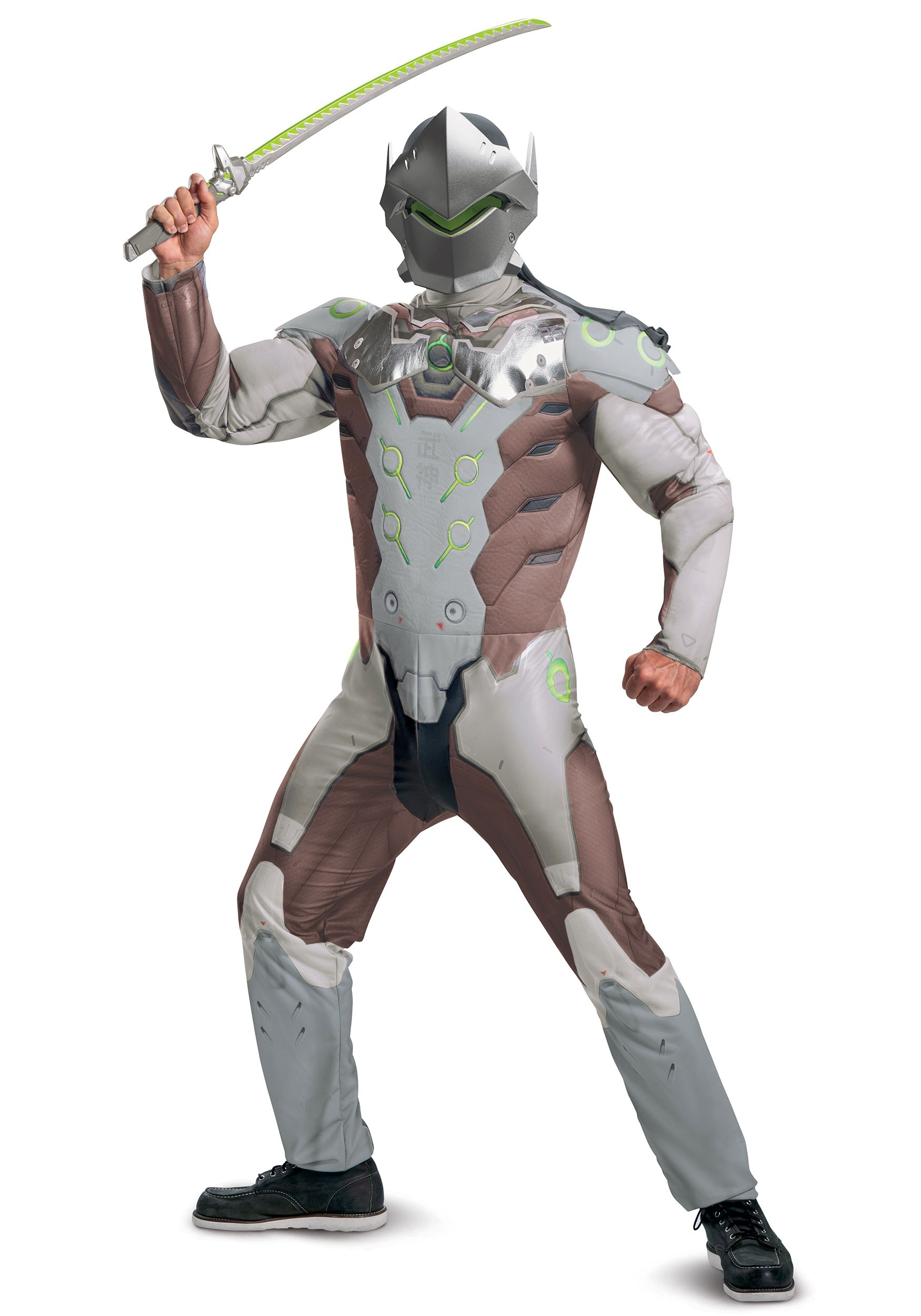 Adult Genji Muscle Costume from Overwatch
