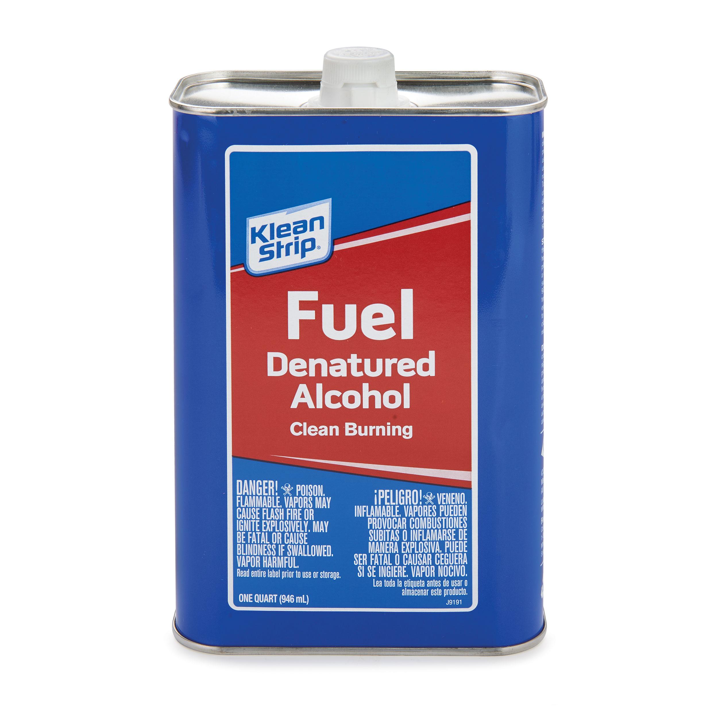 Fuel Denatured Alcohol Quart