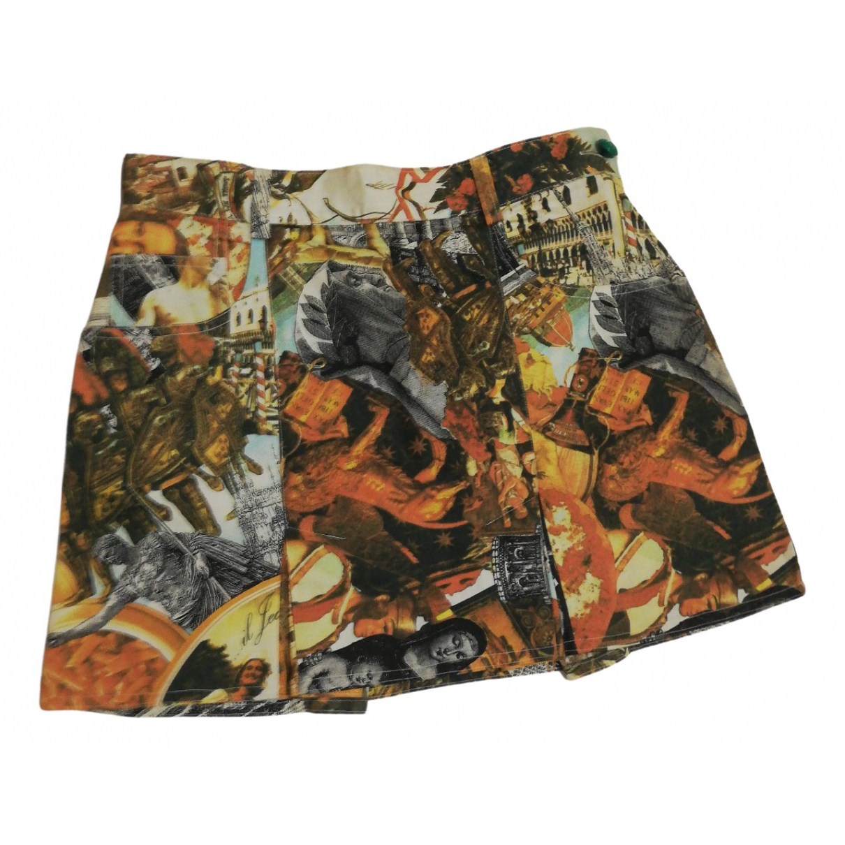 Moschino \N Multicolour Cotton skirt for Women 44 IT