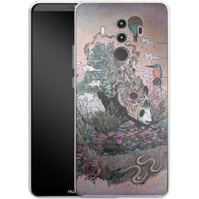 Huawei Mate 10 Pro Silikon Handyhuelle - Land Of The Sleeping Giant von Mat Miller