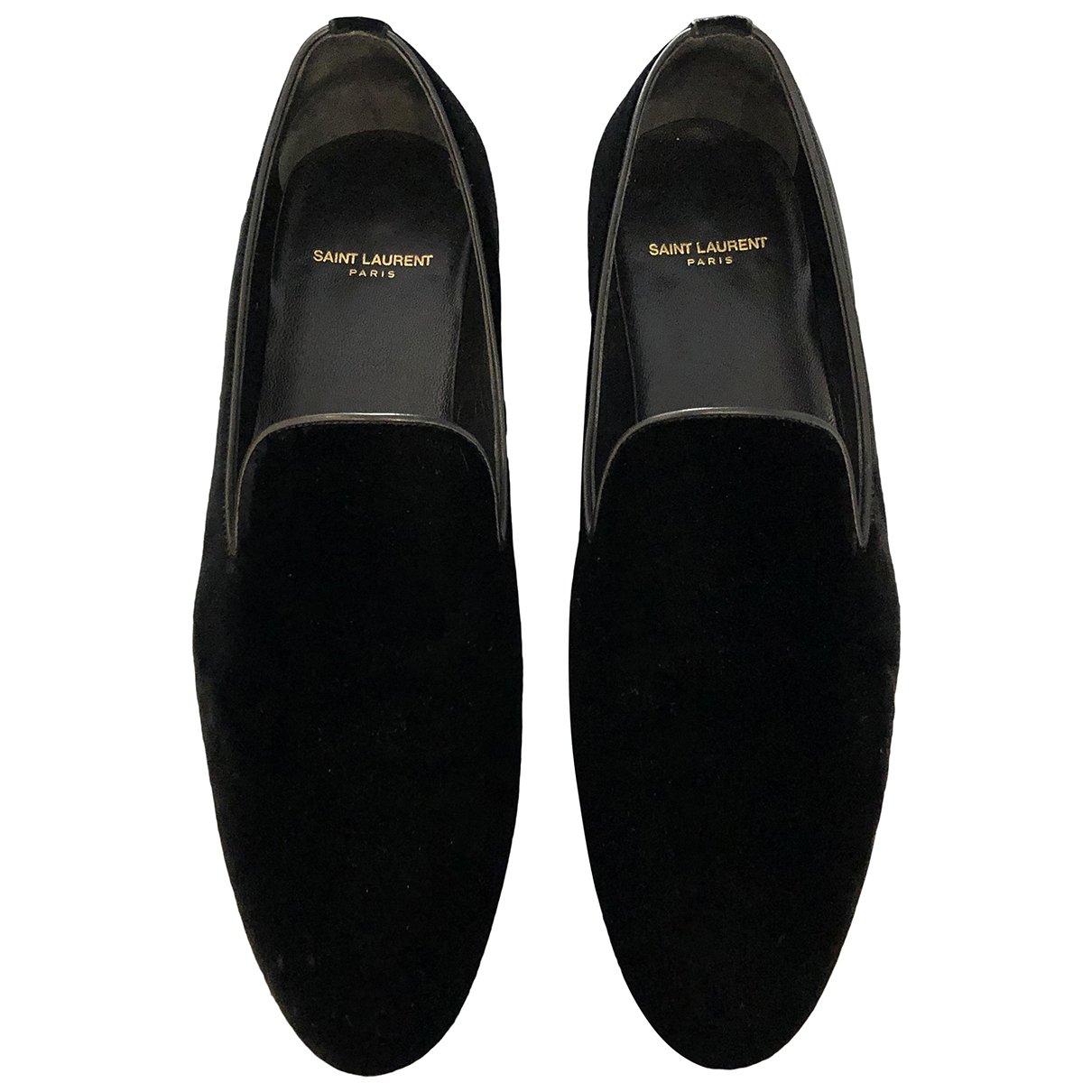 Mocasines Smocking de Terciopelo Saint Laurent