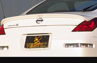 Vertex VER-Z33RSTR-RS FRP Rear Spoiler Nissan 350Z Z33 Roadster 03-09