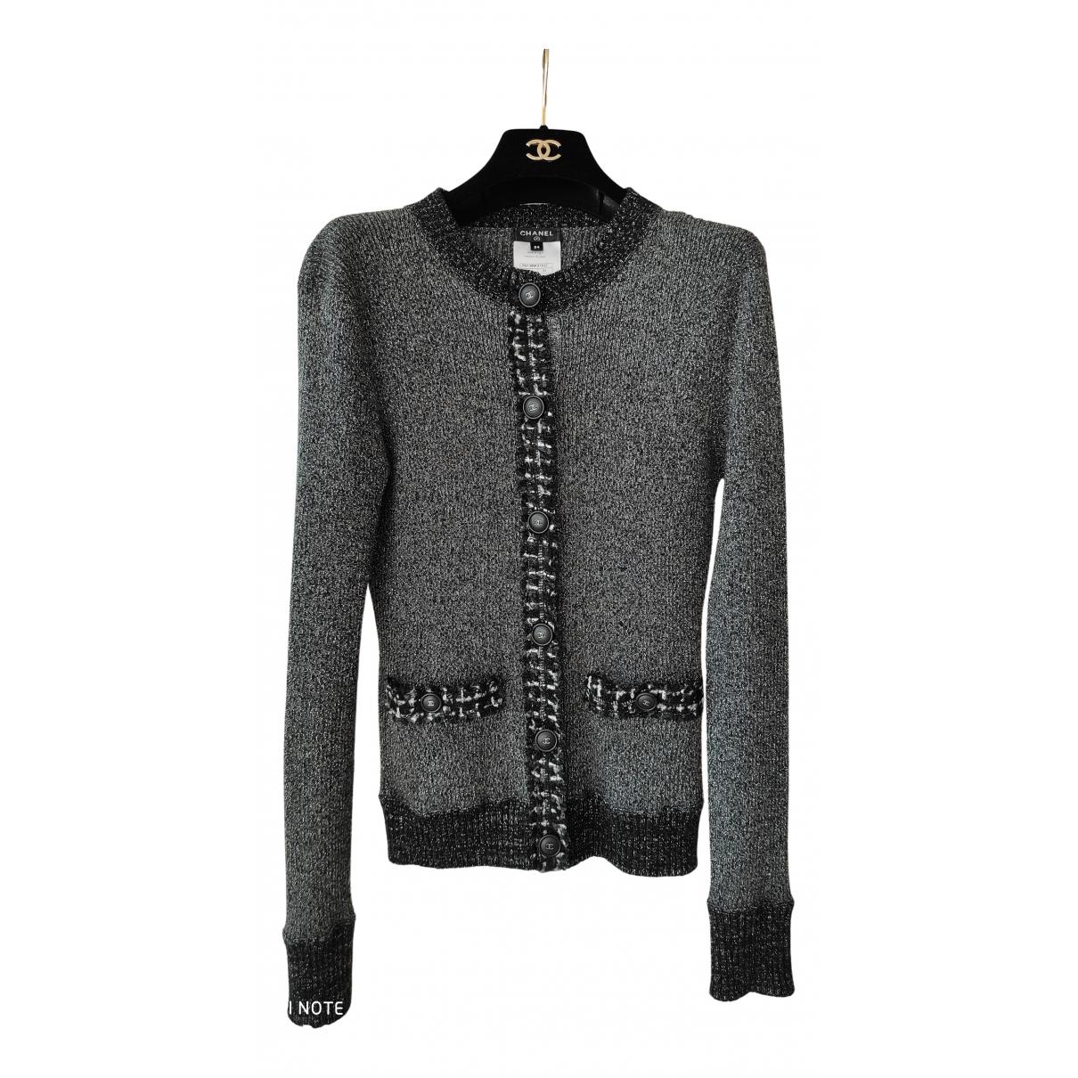 Chanel N Black Wool Knitwear for Women 34 FR